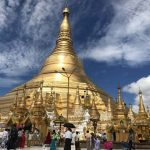 The legend Shwedagon Pagoda in Yangon