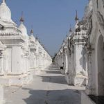 The white washed Buddha book in Kuthodaw Pagoda
