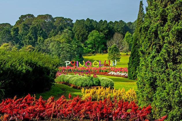 Visit Pyin Oo Lwin in Myanmar itinerary 4 weeks