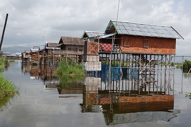 boat trip around Inle Lake-Myanmar itineraries 4 weeks