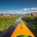 inle lake floating houses and gardens