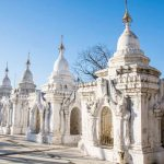 kuthodaw pagoda-where enshrines the largest book in the world