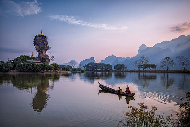 stroll through the glorious Hpa an in Myanmar itineraries 3 weeks