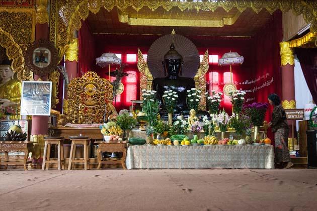 Hnee Pagoda in Kalaw