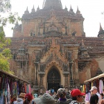 Htilominlo Temple is the largest temple in Bagan