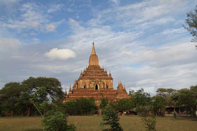 The dramatic beauty of Bagan Temples