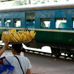circular train is an exciting experience in Yangon tour 4 days