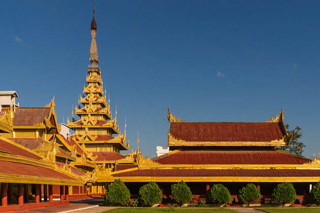 mandalay-royal-palace-myanmar travel packages