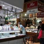A gem shop in Bogyoke Market