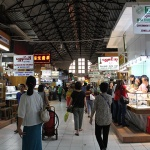 Bogyoke Aungsan market is the largest and most vibrant bazaar in Yangon