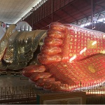 Chauk htat gyi buddha image-one of the largest budha images in Myanmar