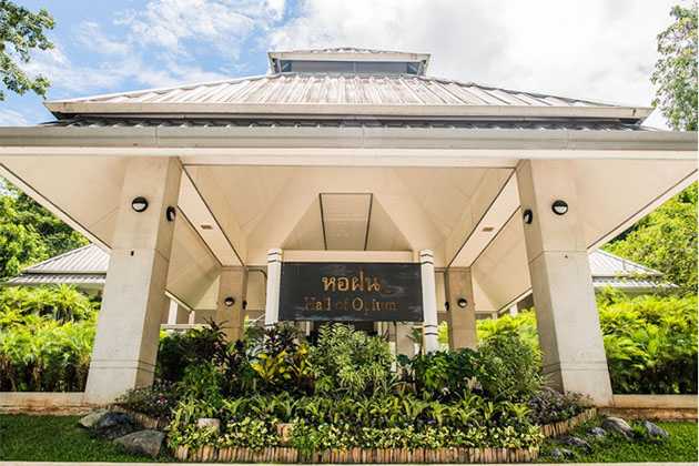 Golden triangle Museum of Opium in Chiang Rai