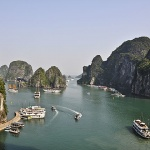 Halong Bay-one of the seven natural wonders in the world