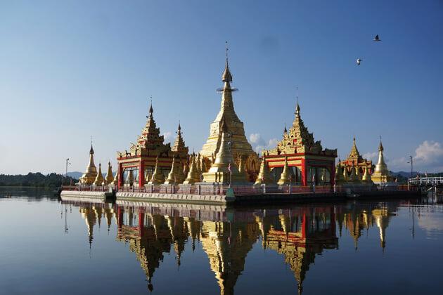 Indawgyi-Lake in Kachin State