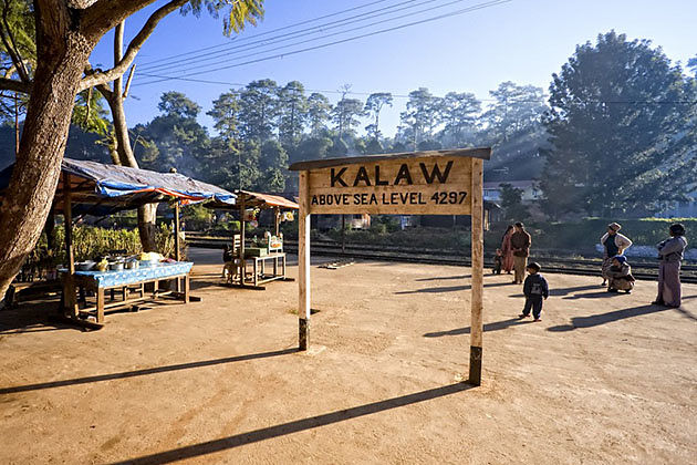 Kalaw-a fantastic trekking point in Myanmar