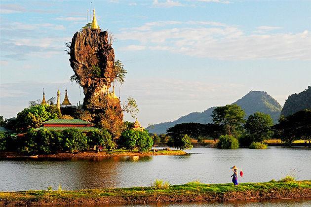 Kyauk Kalap Monasteryin Hpa An