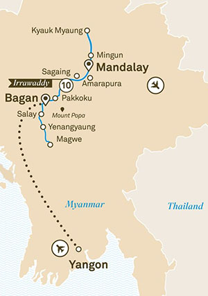 Luxury Irrawaddy River tour 11 days