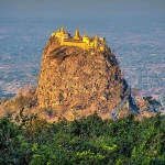 Mt Popa-one of the most important pilgrim sites in Myanmar