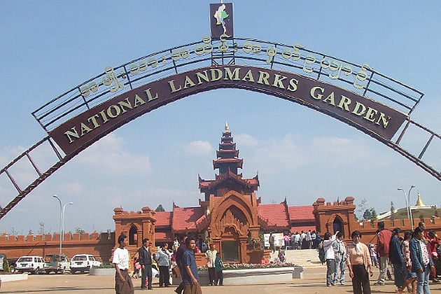 Myanmar adventure tour to the National Landmark Garden in Pyin Oo Lwin