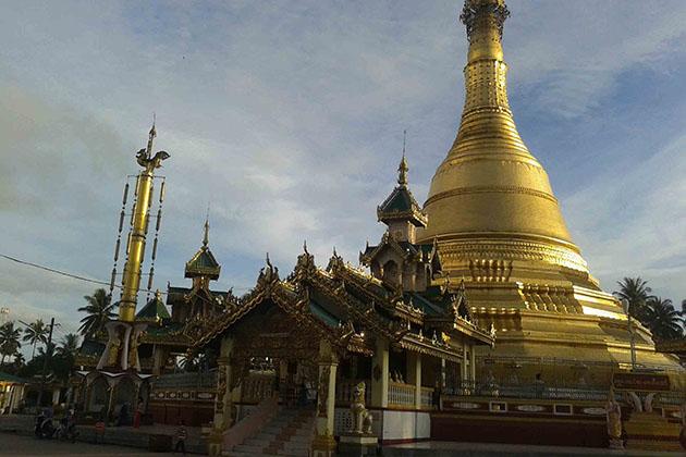 Payagyi Temple in Sittwe