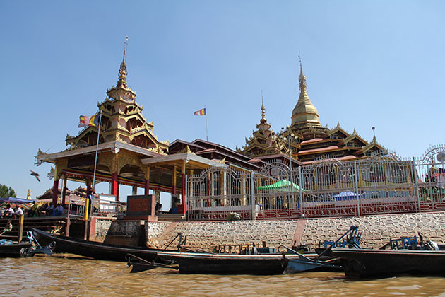 Phaung Daw Oo Pagoda-an important religious site in Shan State