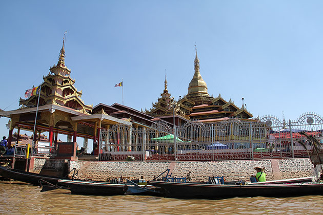 Phaung Daw Oo Pagoda-the most revered religous pagoda in Inle Lake
