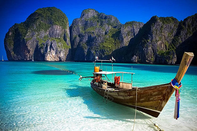 Phuket beach-a highlight of Myanmar Thailand itinerary