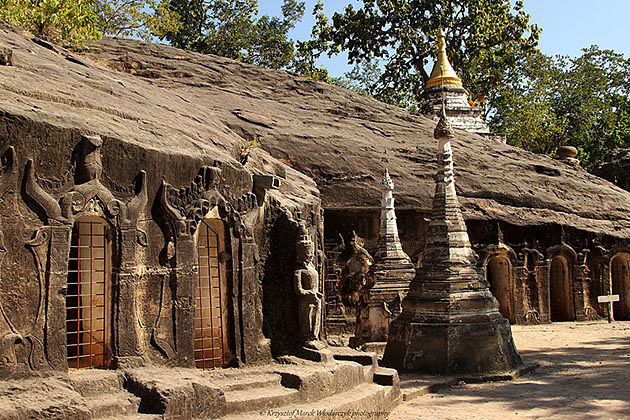 Po Win Daung Cave in Monywa is a fantastic spot to visit in Myanmar tour 17 days