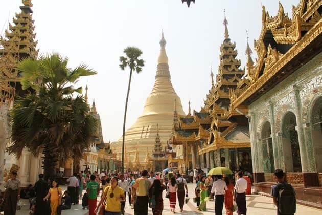 Shwedagon-Pagoda-the most beautiful pagoda in Yangon