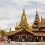 Shwezigon - one of the most important pilgrim sites dating back to the 11th century