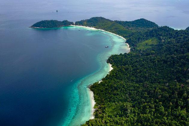 The pristine Myeik Archipelago