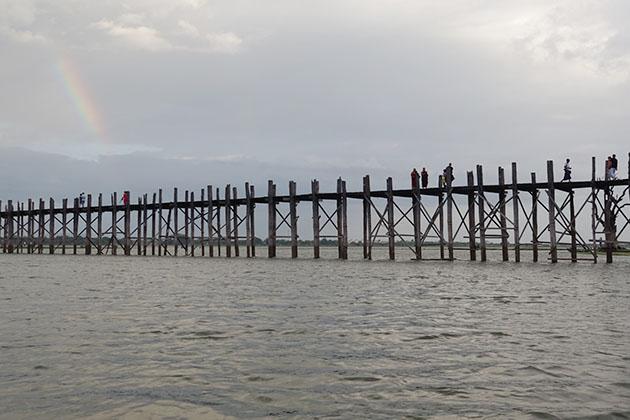 U Bein Bride is the longest teak bridge in the world