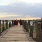 U Bein Bridge-the longest and oldest teak bridge in the world