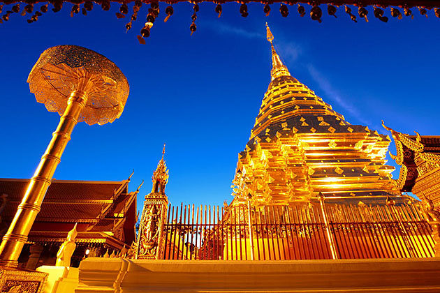 Wat Phra Doi Suthep-the must visit temple in Myanmar thailand tour