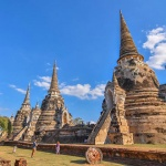 Wat Phra Si Sanphet-one of the most beautiful pictures of Ayuttaya
