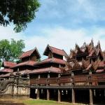 Youqson Kyaung monastery in Salay