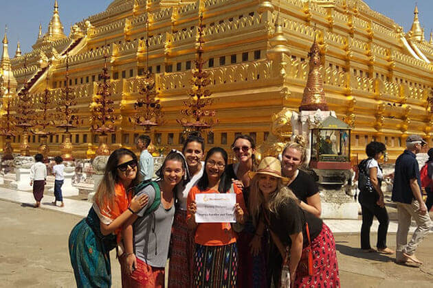 We Would Like to Thanks Go Myanmar Tours for Your Excellent Services