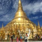 the legend Shwedagon Pagoda