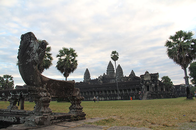 to Angkor Wat-the 7th wonder of the world where possesses some of the longest and most intricated stone carving