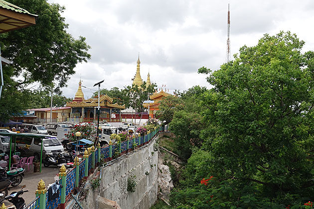 A pagoda in Sagaing Hill