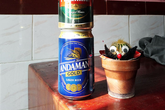 Andaman Gold & Gold Special beer in Myanmar