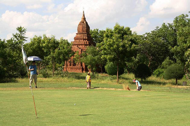 Bagan Golf Resort-best Myanmar golf course to play golf in the pure magic scenery