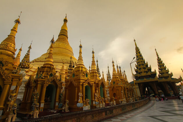 Best time for a yangon-tour