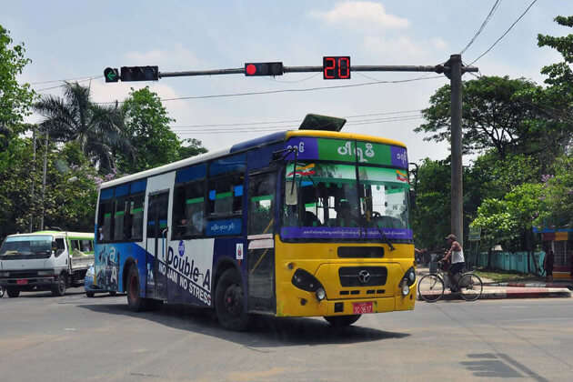 Buses in Yangon-Yangon tour packages