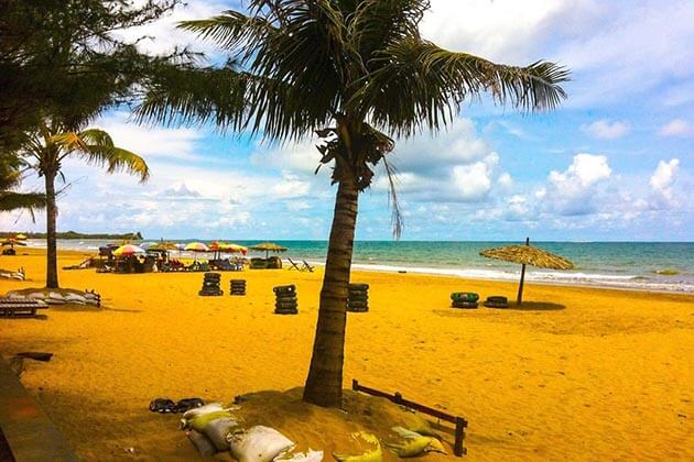 Chaung-Tha-beach-ideal beach for a Myanmar beach holiday