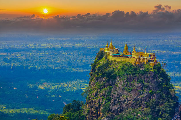 Hike-up-to-the-mount-Popa-in-Myanmar-Honeymoon-tour