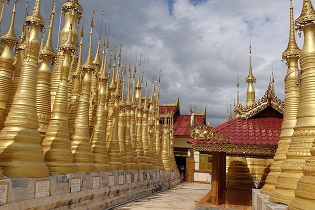 Indein temple-one of the best places to visit in Inle Lake tours