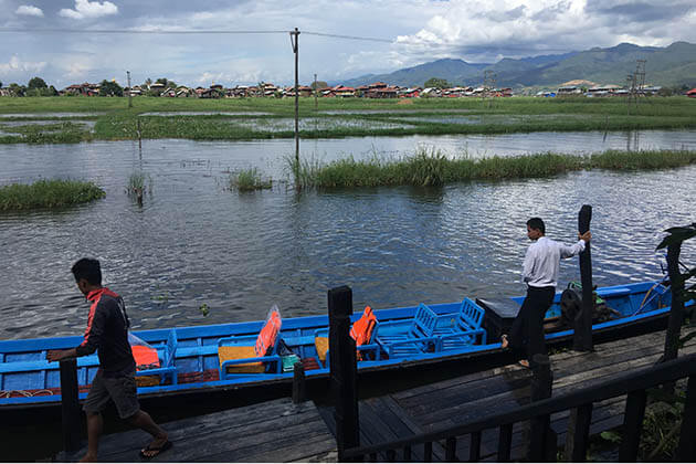 Inle Lake boat trip-an exciting experience in Myanmar luxury tours