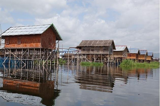 Inle Lake scenery in Inle lake tour