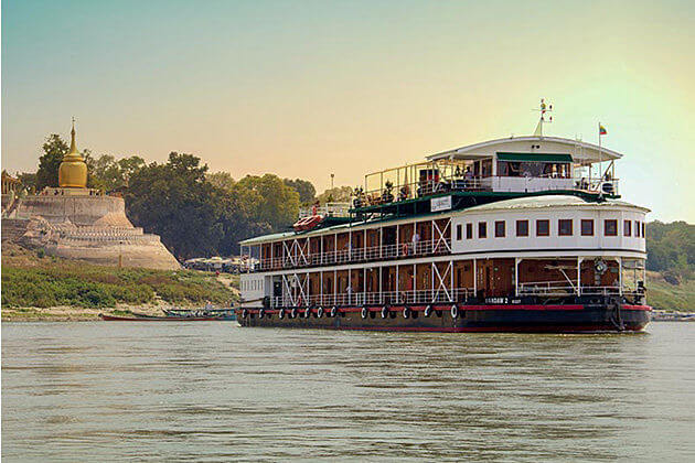 Irrawaddy-Cruise-best thing to enjoy in-Myanmar-luxury-tours